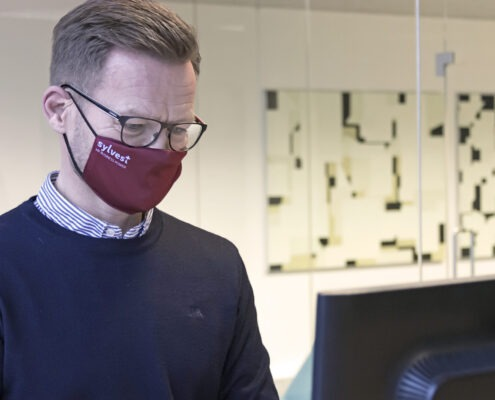 Året der gik: Thomas Sylvest med mundbind